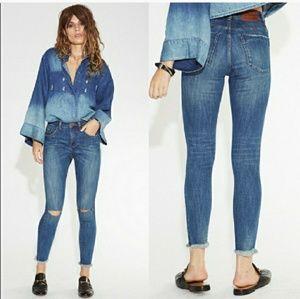 NWT high waist Freebird II vintage indigo jeans
